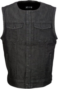 Z1R Ganja Mens Denim Vest