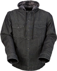 Z1R Timber Denim Mens Button Up Long Sleeve Shirt
