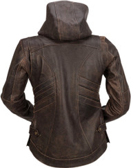 Z1R Indiana Womens Leather Jacket