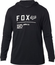 Fox Racing Non Stop Mens Long Sleeve Hooded Shirt