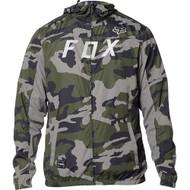 Fox Racing Moth Camo Mens Windbreaker Jacket