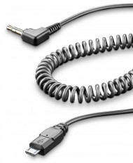 Cellularline Interphone Aux Cable Micro USB 3.5mm Jack
