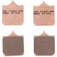 EBC Double-H Sintered HH Brake Pads (FA322/4HH)