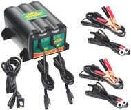 Deltran Battery Tender 2-Bank 12v (022-0165-DL-WH)