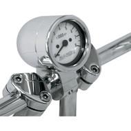 "Baron Bullet Tachometer 1"" Handlebar White Face (BA-7570-00)"