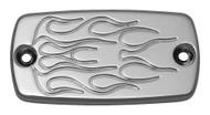 Baron Master Cylinder Covers Flame Chrome (BA-7640-03)