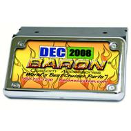 Baron Side Mount License Kit Chrome (BA-3181-00)