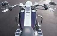"""Baron Big Johnson 1-1/4"""" Handlebar For Harley Davidson Chrome (LA-7303-01)"""