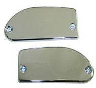 Baron Master Cylinder Covers Smooth Chrome (BA-7671-00)