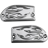Baron Master Cylinder Covers Flame, Chrome (BA-7629-03)
