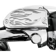 Baron Master Cylinder Covers Flame Chrome (BA-7629-03)