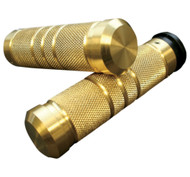 Accutronix Knurled/Grooved Brass Grips Throttle by Wire (GR101-KG5)