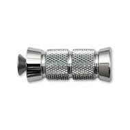 "Accutronix Knurled Shifter/Brake Peg 2 1/4"" L Chrome (PT220-KGC1)"