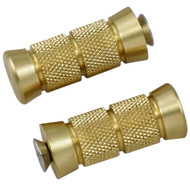 Accutronix Brass Shifter Pegs Knurled/Grooved (PT220-KG5)