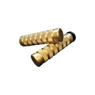 Accutronix Grips Knurled/Notch Brass (GR100-KN5)