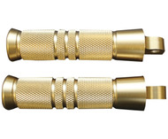 Accutronix Brass Footpegs Grooved (RP111-KG5)