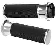 Arlen Ness Fusion Grips Smoothie Chrome (07-320)