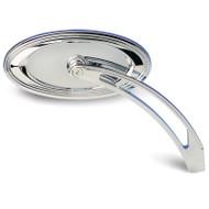 Arlen Ness Alternative Mirror Oval Stepped (13-044)