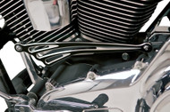 """Arlen Ness Deep Cut Flat Billet Aluminum 12"""" Shift Rod Black Anodized (19-913)"""