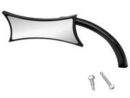 Arlen Ness Micro Mirror Four Point Left Black (13-418)