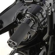 Arlen Ness Fusion Grips Bevelled Black (07-329)