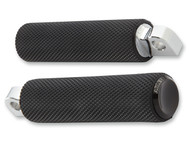 Arlen Ness Fusion Footpegs Knurled Black (07-925)