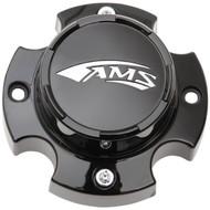 AMS Radial Pro A/T Center Cap Black Gloss (0223-0114)