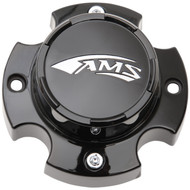 AMS Radial Pro A/T Center Cap Black Gloss (0223-0114)