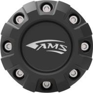AMS Roll'n 105/Roll'n 106 Center Cap 4/156 Black (0223-0181)