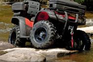AMS Black Widow Front/Rear Tire 25X8-12 6PR (0320-0771)