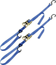"Ancra 1"" Integra Ratchet-Buckle Tie Downs Blue (49498-12)"
