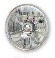 "Adjure Halogen Headlight 7"" Diamon-Cut Ice (T70100)"