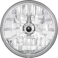 """Adjure Halogen Headlight 7"""" Diamond-Cut Trillentw/Black Dot (T70304)"""