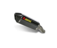 Akrapovic Slip-On Hexagonal Muffler Stainless/Carbon/Carbon (S-S6SO8-HZC)