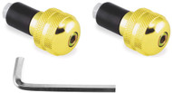 "BikeMaster Anti-Vibration Bar Ends 7/8"" Bar Gold (15-6003)"