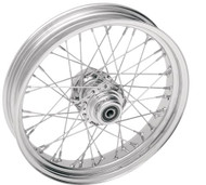 Drag Specialties 40 Spoke Front Wheel 16x3.5 w/out ABS Chrome (0203-0069)