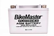 BikeMaster AGM Platinum II Battery 300 CCA 205L X 87W X 162H (HTX24HL-FA)