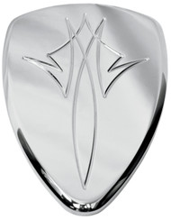 Baron Big Air Kit Replacement Cover Chrome Pinstripe (BA-2800-13)