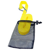 Jet Logic 15ft PWC Tow Strap with Stainless Hook & Mesh Bag Yellow (TS-15)