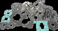 Hot Rods Bottom End Replacement Crankshaft Kit (CBK0002)