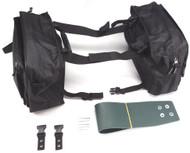 Gears Saddlebag Snowmobile Bag Black (300197-1)