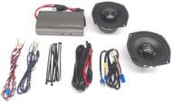 Hogtunes 225 Watt Amp and Front Speaker Kit (225 SG KIT-AA)