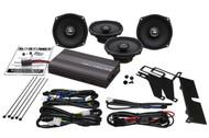 "Hogtunes 300 Watt 5-1/4"" Amp/Front and Rear Speaker Kit (REV 450U KIT-AA)"
