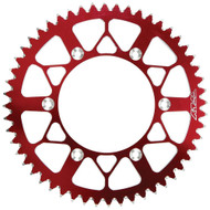 Fly Racing Aluminum Rear Sprocket 48 Tooth Red (225-48 RED)