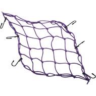 """Emgo 15"""" x 15"""" Bungee Stretchy Cargo Net Purple (78-60503)"""