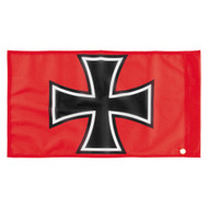 DragonFire Whip Flag w/Single Sided Print Red Baron (04-0108)