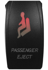 DragonFire Laser Etched Switch Passenger Eject w/Red LED (04-0081)
