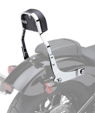 "Cobra Detachable Backrest Kit 11"" High w/Squared Pad Chrome (602-2024)"
