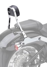 "Cobra Detachable Backrest Kit 11"" High w/Squared Pad Chrome (602-2027)"