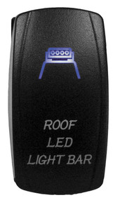 DragonFire Laser Etched Switch Roof LED On/Off w/Blue LED (04-0074)